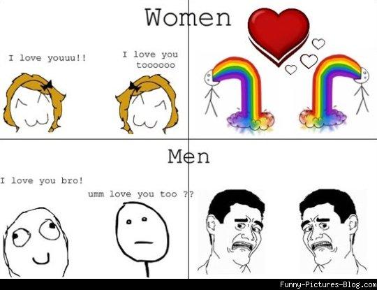 men-vs-woman